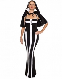 Sexy Nun Women Costume