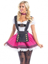 Dirndl German Bavarian Beer Wench Girl Oktoberfest Coustumes